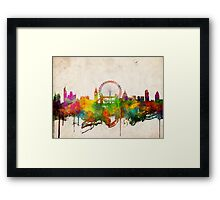 london city skyline 4 Framed Print