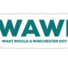 WWAWD? What Would a Winchester Do? Sticker