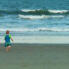 Baby at the Beach by rosaliemcm