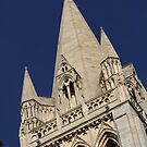 Truro Cathedral Tower by Johnathan Bellamy