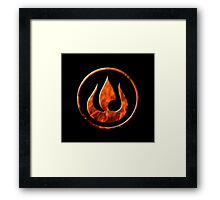 Fire Nation Framed Print
