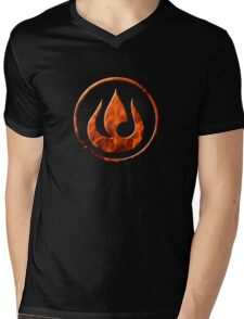 Fire Nation Mens V-Neck T-Shirt