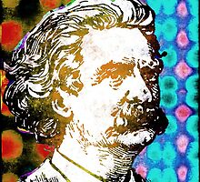 MARK TWAIN-2 by OTIS PORRITT