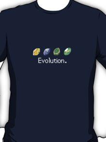 Pokemon Elemental Evolution [White Text] T-Shirt