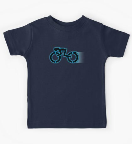 Grid Cyclists Only V2 (With Trail) Kids Tee