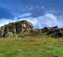 Almscliff Crag #1 by Colin Metcalf