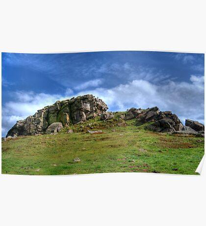 Almscliff Crag #1 Poster