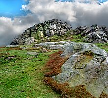 Almscliff Crag #2. by Colin Metcalf