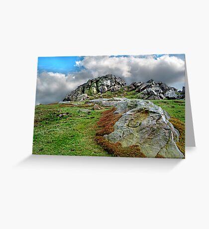 Almscliff Crag #2. Greeting Card