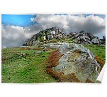 Almscliff Crag #2. Poster