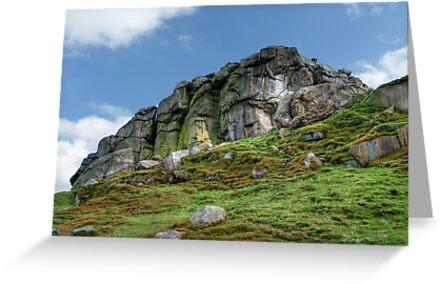 Almscliff Crag #3. by Colin Metcalf