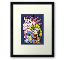 Pokemon Aren't Cute in Battle Framed Print