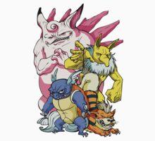 Pokemon Aren't Cute in Battle One Piece - Long Sleeve