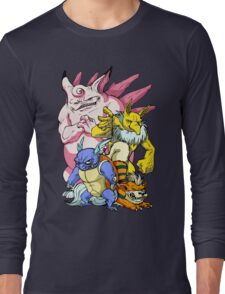 Pokemon Aren't Cute in Battle Long Sleeve T-Shirt