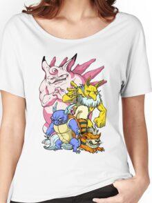 Pokemon Aren't Cute in Battle Women's Relaxed Fit T-Shirt