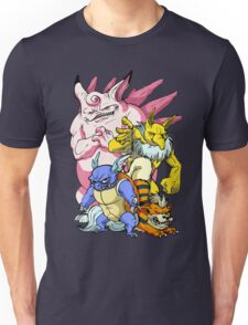 Pokemon Aren't Cute in Battle Unisex T-Shirt
