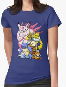 Pokemon Aren't Cute in Battle Womens Fitted T-Shirt