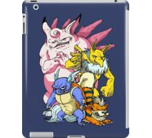 Pokemon Aren't Cute in Battle iPad Case/Skin