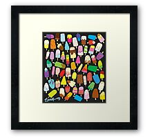 LOLLIES! Framed Print