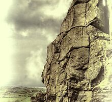 Almscliff Crag Profile #3 by Colin Metcalf