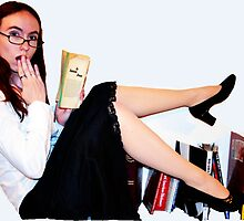 Geeky Pin-Up: Librarian by geekybombshell