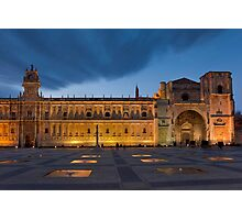 San Marcos convent, Leon, Castilla y Leon, Spain  Photographic Print