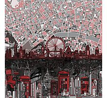 London skyline abstract 4 Photographic Print