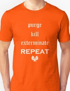 Purge-kill-exterminate white, Warhammer 40K T-Shirt