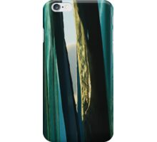 Chink in the curtains iPhone Case/Skin