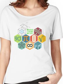 MATH! Women's Relaxed Fit T-Shirt