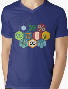 MATH! Mens V-Neck T-Shirt