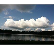 Clouds over Orcas Island, Washington Photographic Print