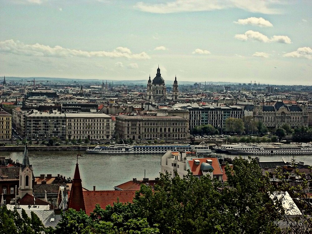 Budapest, Hungary by Kristina R.