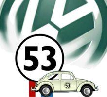 VW Herbie Sticker