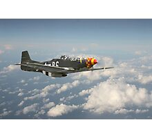 P51D Mustang - Old Crow Photographic Print