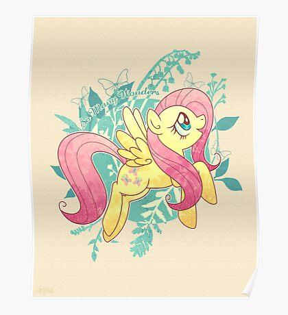Flutter Nature Poster