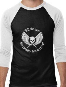 Imperial Guard white, Warhammer 40K Men's Baseball ¾ T-Shirt