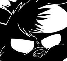 Fox Machine Gun - Silouhette (black edition) Sticker