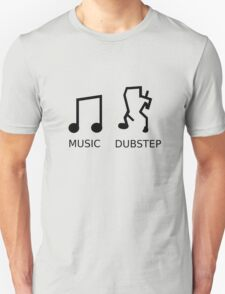 Music Vs. Dubstep T-Shirt