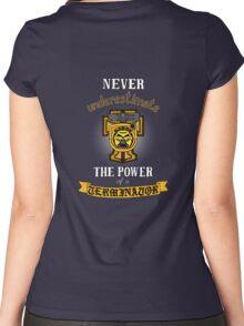 Terminator 1, Warhammer 40K Women's Fitted Scoop T-Shirt