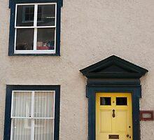Yellow Door by Melodee Scofield