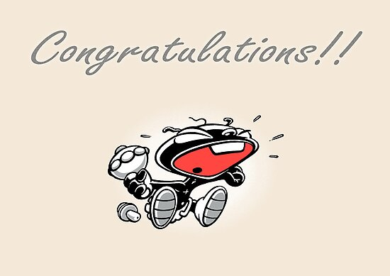 Congratulations! by Chris Baker