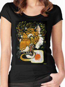 Tiger's Roar Women's Fitted Scoop T-Shirt