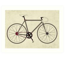 Road Bicycle Art Print