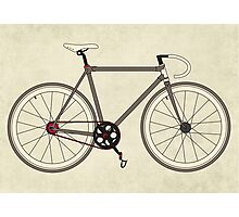 Road Bicycle Photographic Print