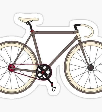 Road Bicycle Sticker
