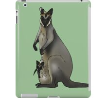 Swamp wallaby iPad Case/Skin