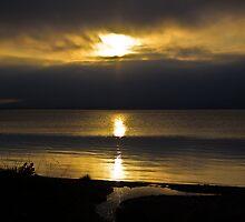 Loch Leven Sunset. by ninjabob