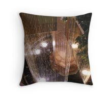 Water in Motion VII Throw Pillow