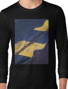 flamming road altered reality Long Sleeve T-Shirt